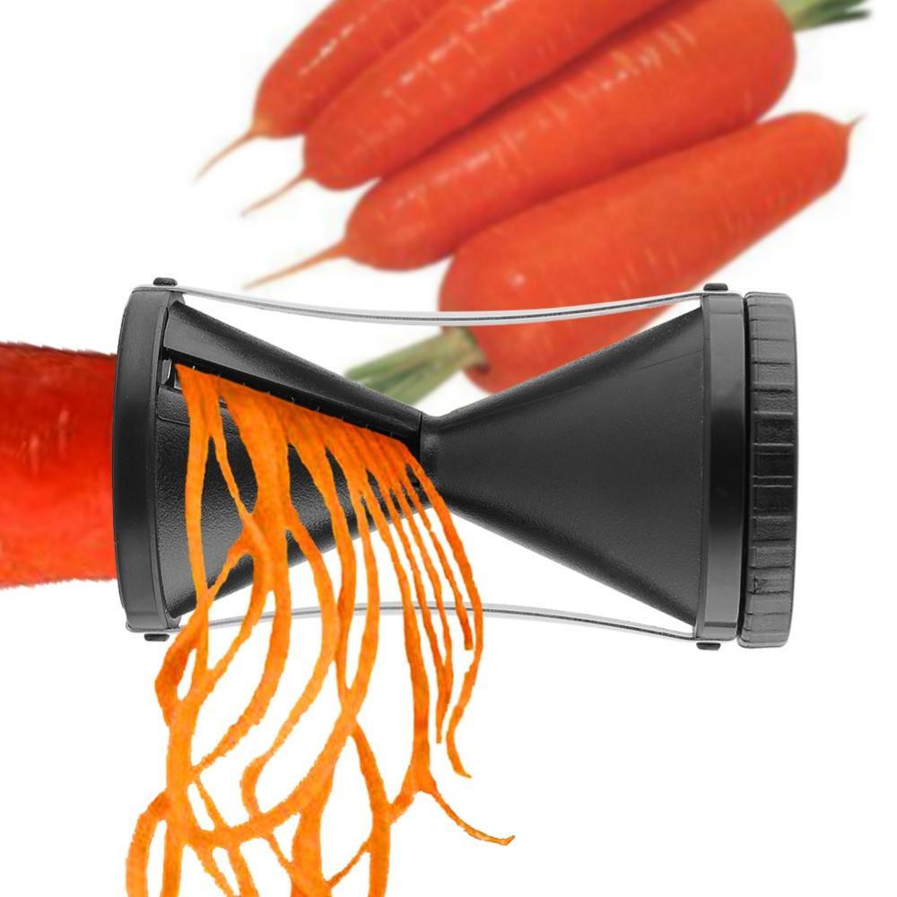 لولبية القطاعة جودة عالية دوامة أجاد الخضار الفاكهة عملية spiralizer القاطع القطاعة أداة مجانية ، dandys