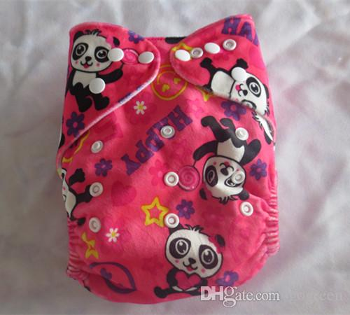 2015 New Arrival Free Shipping Baby Cloth Diapers One Size Fits All Baby Washable Diaper Minky Cloth Diaper 300 diaper without inserts