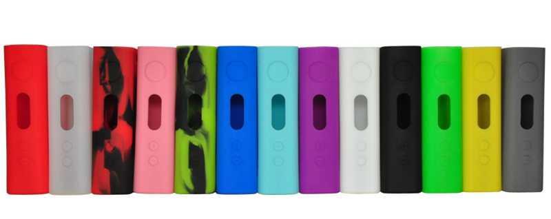 New E cig Electronic cigarette IStick 100W Silicone Case Skin Cover Bag Pocket Pouch Accessories Box