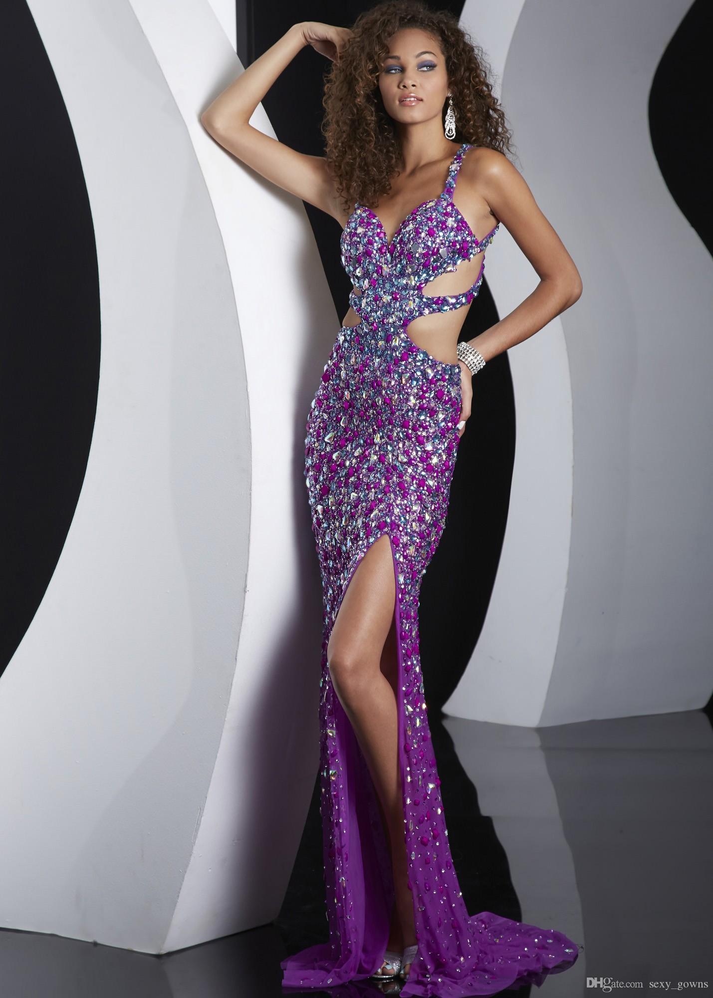 Compre Vestidos Atractivo Moldeado Vestidos De Baile De Alta Calidad ...