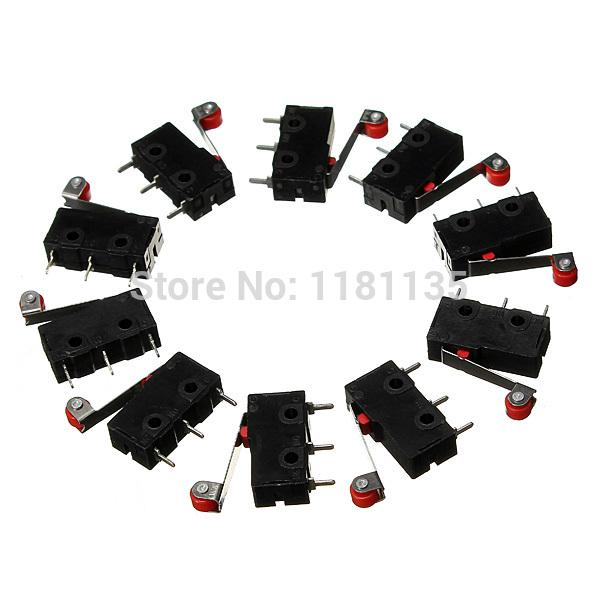 10 x Roller Lever Arm PCB Terminals Micro Limit Normal Close/Open Switch KW12-3 FREE SHIPPING order<$18no track