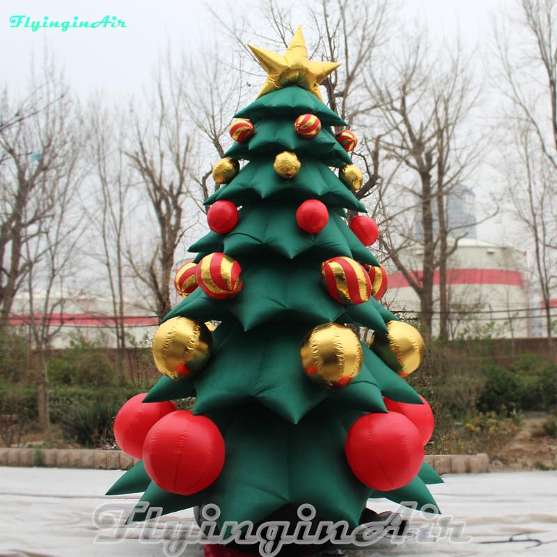 Inflatable Christmas Tree.5m Giant Inflatable Christmas Tree Xmas Tree For Home Mall Christmas Decoration Holiday Home Decor Holiday Ornaments From Flyinginair Price