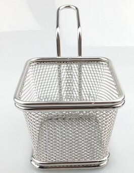 Mini Stainless Steel Fryer Serving Food Presentation Basket Kitchen French  Fries Chips Frying Baskets Today Show Kitchen Gadgets Top 10 Kitchen ...