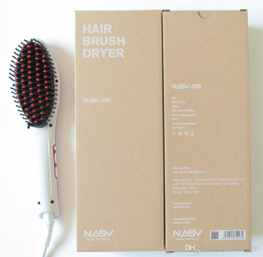 2016 Beautiful Star NASV LCD Hair Brush