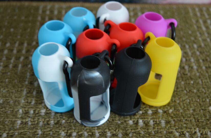 Красочные бутылки Eliquid мягкий чехол силиконовый чехол защитный чехол подходит жидкая бутылка электронной сигареты резиновый рукав защитная крышка DHL бесплатно