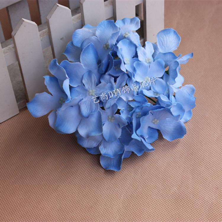 Discount diy hydrangea silk flowers head artificial silk flower do not miss our best 10pcs diy hydrangea silk flowers head artificial silk flower simulation flower head arches for wedding decoration supplies here with mightylinksfo