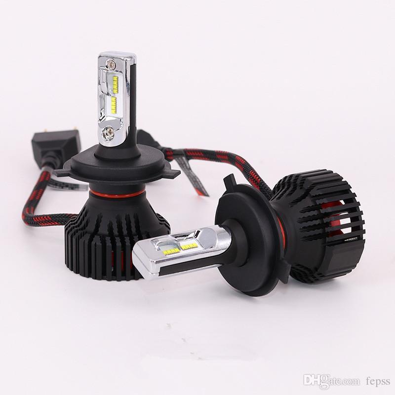 Car T8led headlamp super bright light bulb H7 H4 H13 9005 led