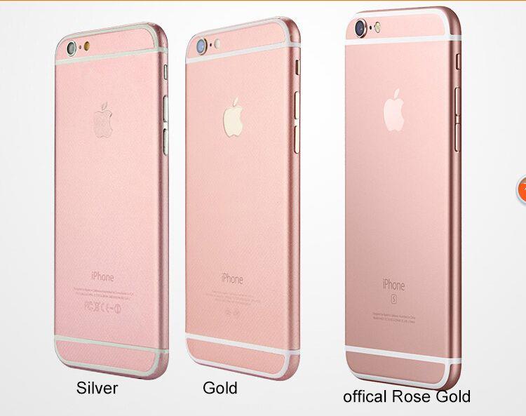 Rose Golden Full Body Front Back Side Protector Film Skin Sticker For Iphone 6 6S Plus
