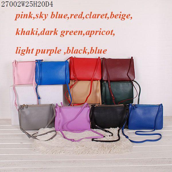 Fashion Handbags Purples Black Apricot