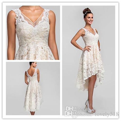 A Line Asymmetrical Dresses