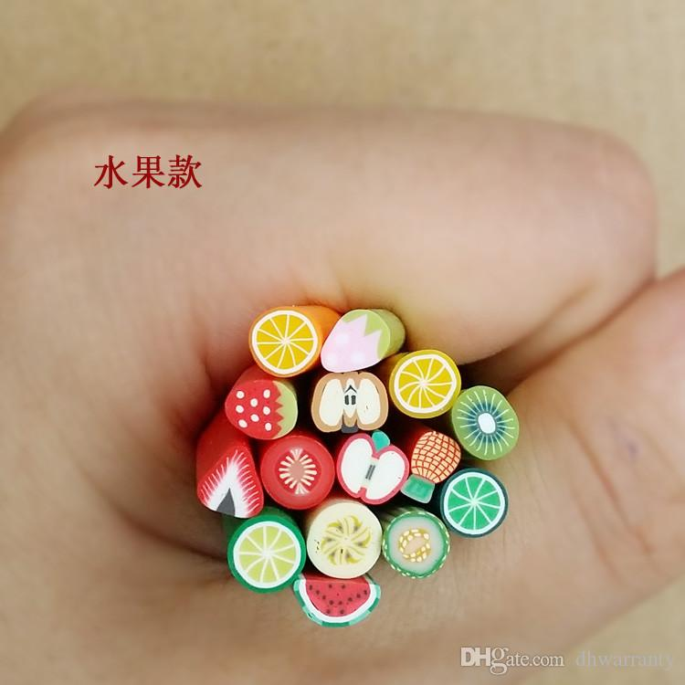 Nail Art Stickers 10syles Nail Art Canes Stickers Rod Fimo ...