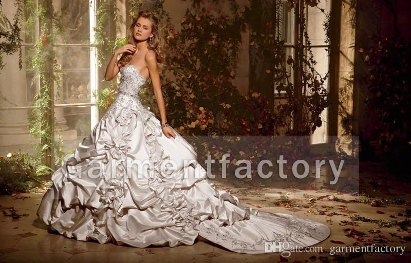 Victorian Ball Gown Wedding Dresses 2016 Sweetheart Neckline ...