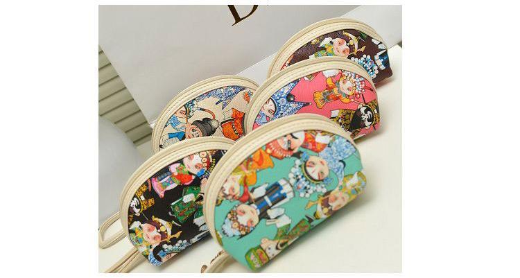 أكياس صغيرة الرياح وطني أوبرا بكين نمط عملة وحقائب اليد الأزياء causul الترفيه حقائب اليد حقيبة حزمة الكتف