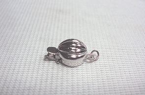 Оптовая красивый жемчуг ювелирные изделия аксессуары натуральный жемчуг ожерелье браслет сферические 925 серебряная застежка HFY1836