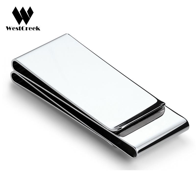 Exquisite Gift Brand Multifunction Men /Women Stainless Steel Money Clip Slim Pocket Purse Cash Holder Clip Money Card Bill Ml260