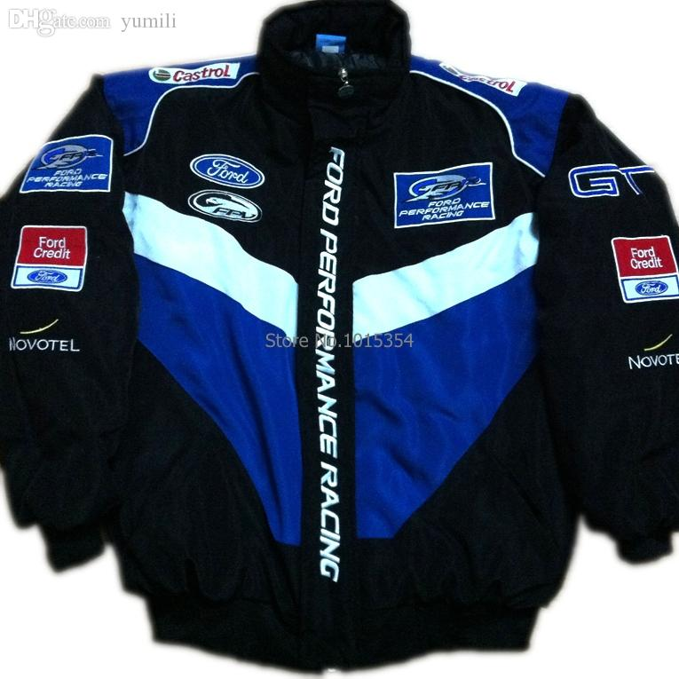 Ford Racing Apparel >> Fall F1 Automobile Race Clothing Wrc Work Wear 14 Ford Emblem