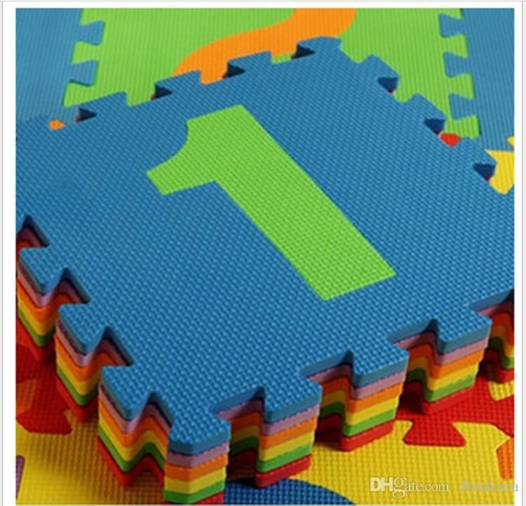 2015 Puzzles Floor Mats Babies Crawling Pad Colorful Game Mats