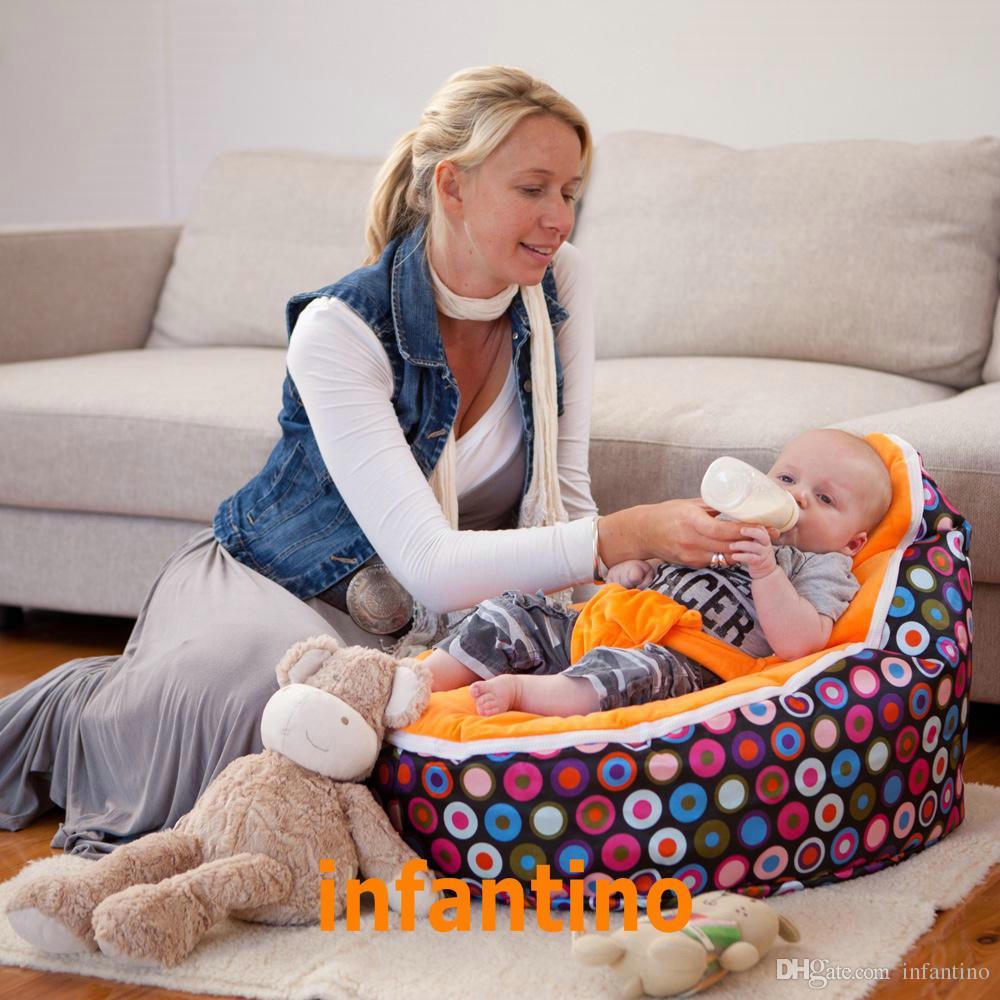 Feeding Chair 2 Ways Cushion Body Pillow And Baby Bean Bag