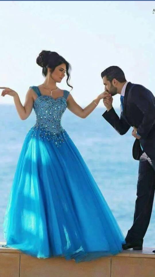 Elegante Cristal Frisado Vestidos de Noite Querida Neck Sleevess Uma Linha FLoor-Comprimento de Vest Vestidos de Baile Elegante