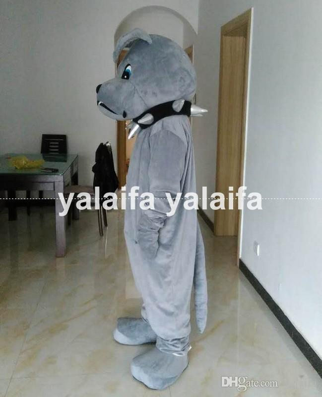 Made Bulldog Spike Mascot Costume Cosplay  Clothing Carnival Halloween Adults