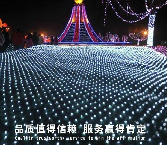 10 M * 8 M 2000 LED net luz net light Pátio parque paisagem luzes luzes de cortina impermeáveis LED série luzes