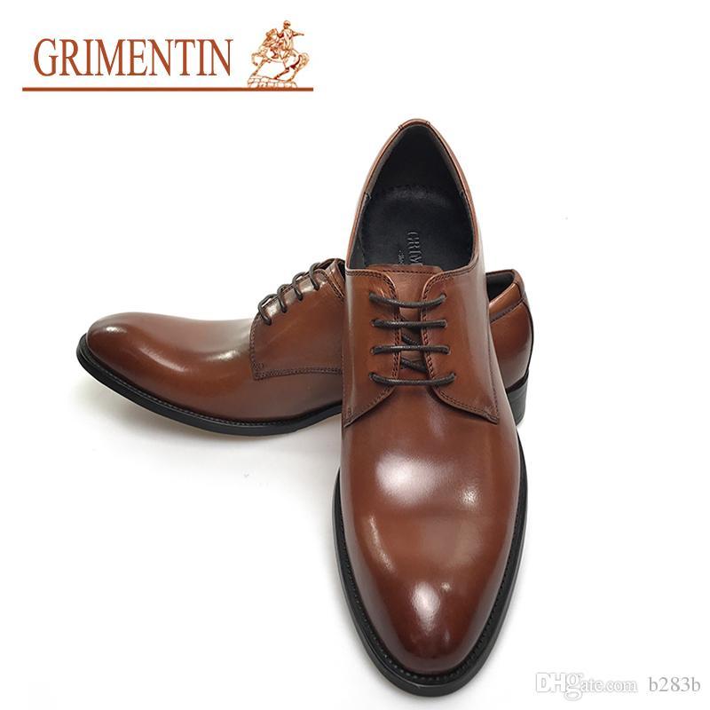 grimentin brand men shoes vintage classic mens formal shoes