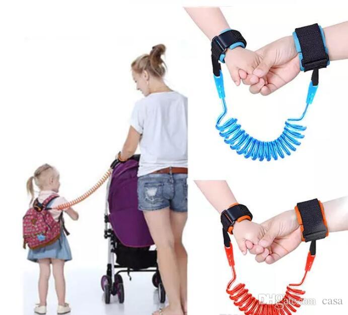 Babies /& Kids Blue Anti Lost Wrist Link Safety Wrist Strap for Toddlers