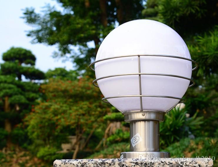 LED-Außenbeleuchtung LED-Standlichtsäulenleuchten Street Garden SpotLights Villar Gate Lights Garten-LED-Leuchten Warmweiß CE ROHSLLFA