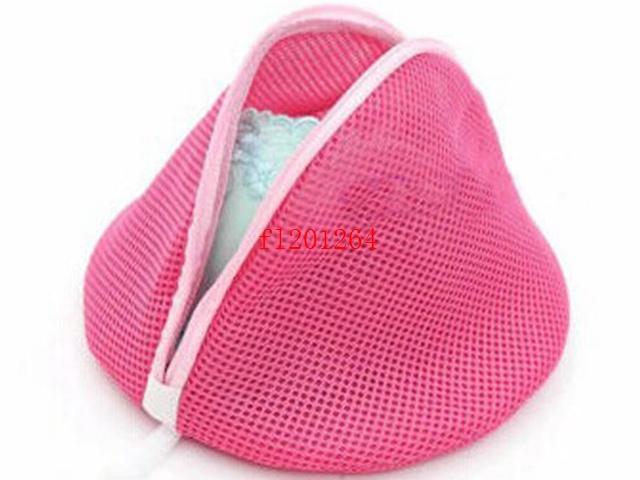 200pcs/lot Free Shipping Red color Laundry Washing Machine Bag Socks Lingerie Bra Underwear Net Mesh Bag