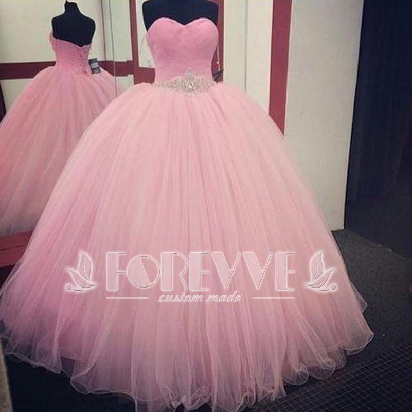 Compre Elegante Vestido De Quinceañera Rosa 15 Años Vestidos De Quinceañera Vestidos De Baile Vestidos De 15 Años Dulces 16 Vestidos Vestidos De