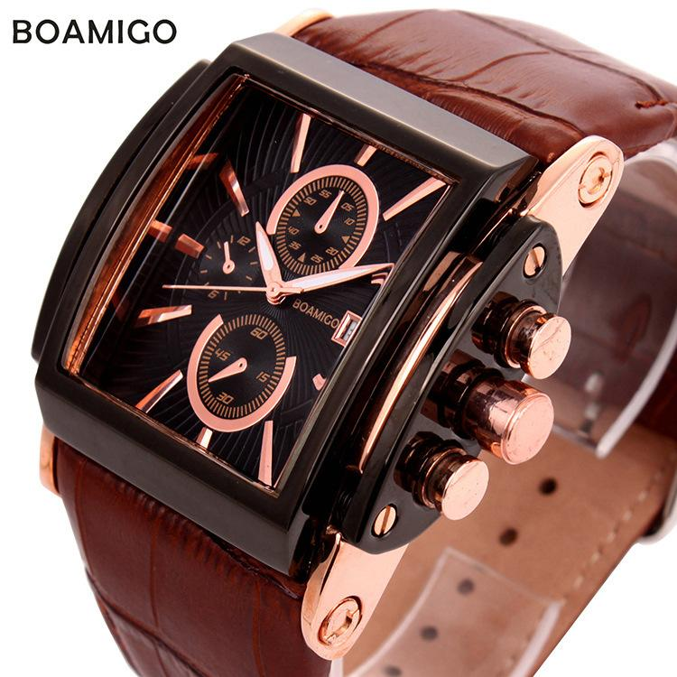 fashion mens watches luxury quartz battery men s wristwatch water fashion mens watches luxury quartz battery men s wristwatch water resistant rectangle complete calendar top sport