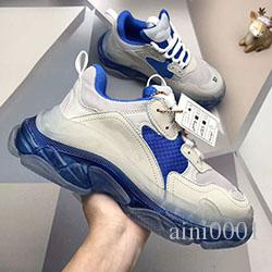 Mens Shoe Triple S 3.0 fashion Designer Casual Shoes Luxury shoes women's Combination Nitrogen Outsole Crystal Bottom Dad Casual Shoes 212