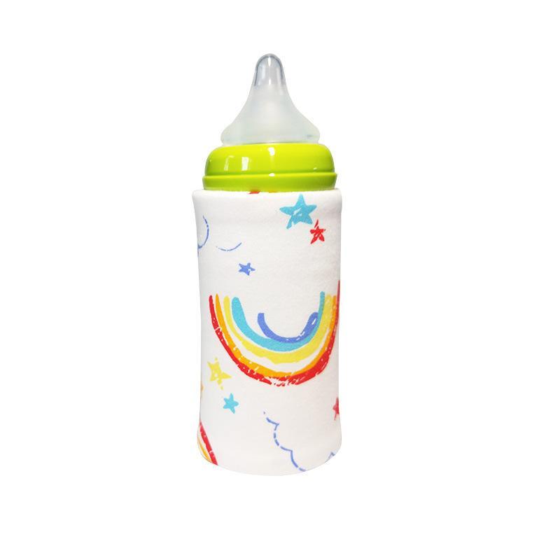 Ins Портативный USB Milk воды грелки путешествия прогулочная коляска Изолированный сумка Быстро младенца рожок подогреватель детского питания Молоко Кубок Открытый