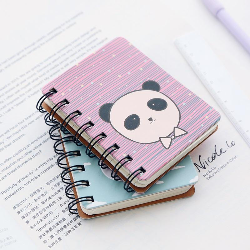 Three Years Class 2 Stationery Flagship Store Small Notebook Small Portable Notebook Stationery Korea Small Fresh Portable Pocket Book Mini