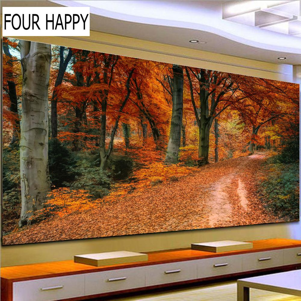 wholesale 5D Diamond Embroidery,Round Diamond full Diamond painting cross stitch natural scenery
