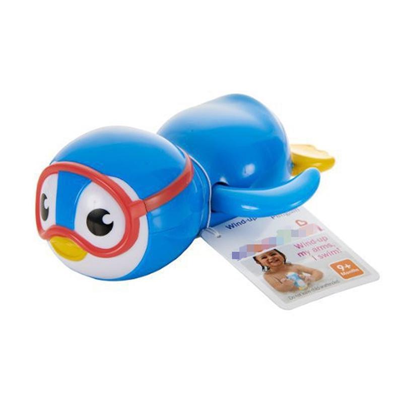 Swimming bath toy penguin children bath toys baby baby water toys bathroom