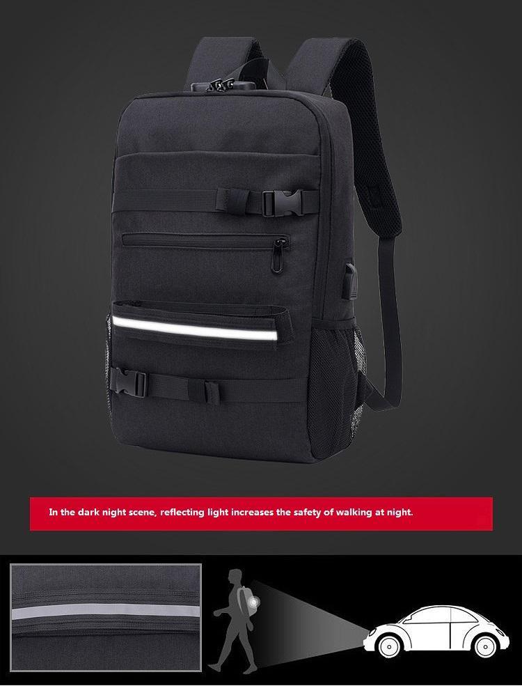 Оптовая торговля-открытый досуг спорт большой емкости рюкзак колледж ветер студент usb рюкзак компьютер рюкзак оптом