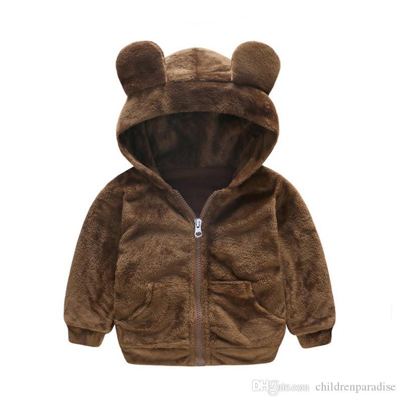 Nueva chaqueta del bebé recién nacido capa de la chaqueta de invierno infantil 9M- 4 Old otoño invierno
