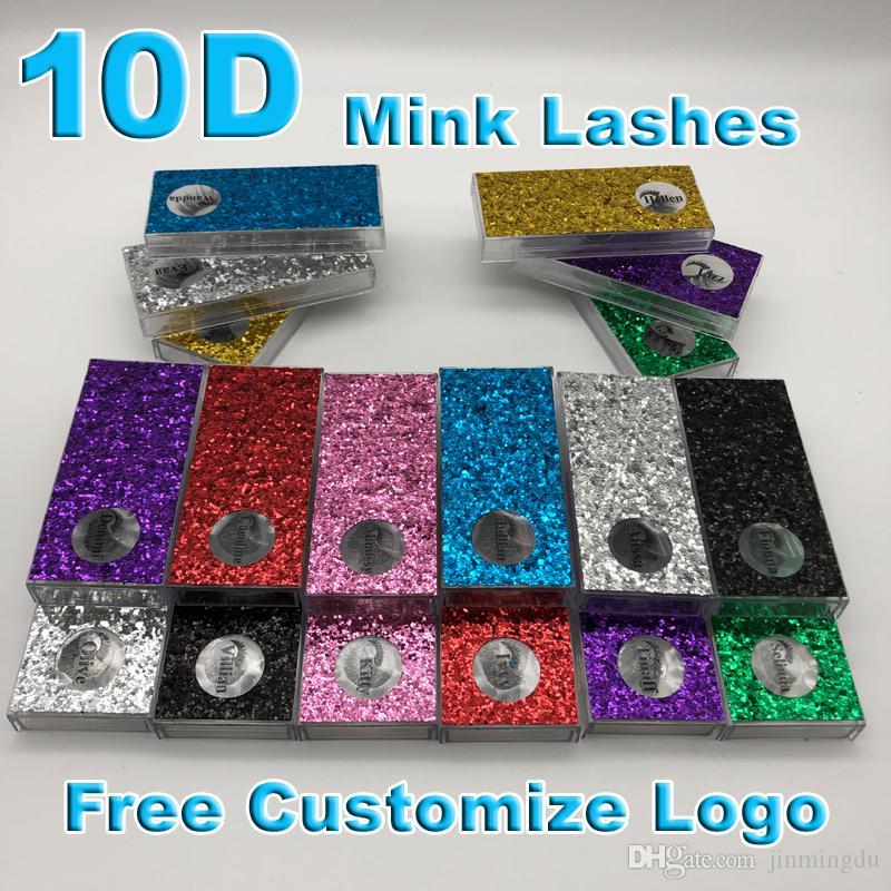 Mink Eyelashes Invisible Band Lashes Natural 10D Mink False Eyelash Full Strip Transparent band lashes cilios posticos