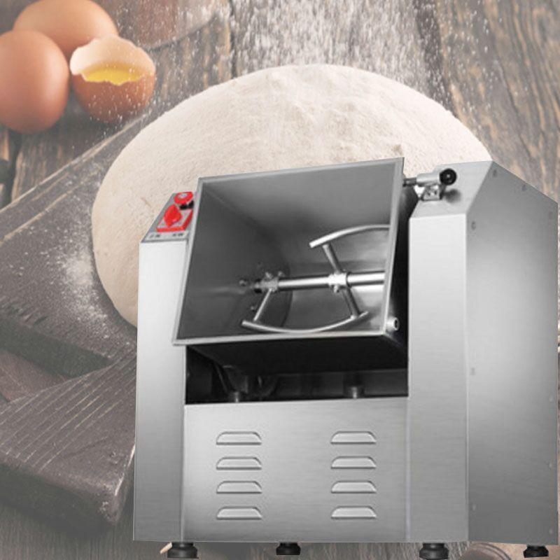 LEWIATETE Último consumidor de acero inoxidable de alta calidad de alta calidad y mezclador automático de masa de masa Máquina mezcladora de harina de masa Máquina amasadora de masa