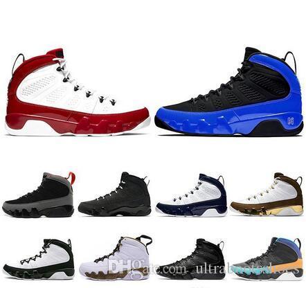 Gym Rouge Citrus Racer Bleu 9 IX 9s mens chaussures de basket-ball de sport Dream It UNC LA jam espace Bred hommes américains 7-13