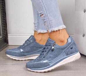 qualità 2020 stampato donna Scarpe casual Donna Canvas merletti pattini piani delle donne di modo sneakers fiori scarpe da donna Y200424