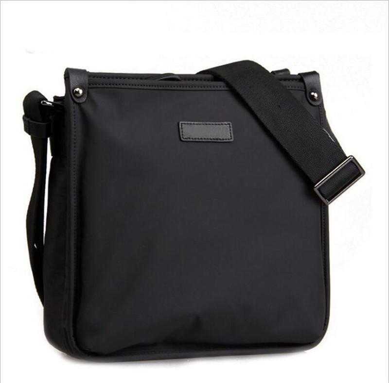 حقيبة تصميم رجل الأعمال حقيبة خمر العلامة التجارية رجل رسول حقيبة عالية الجودة أكسفورد القماش الكتف للذكر بولسا الساخن