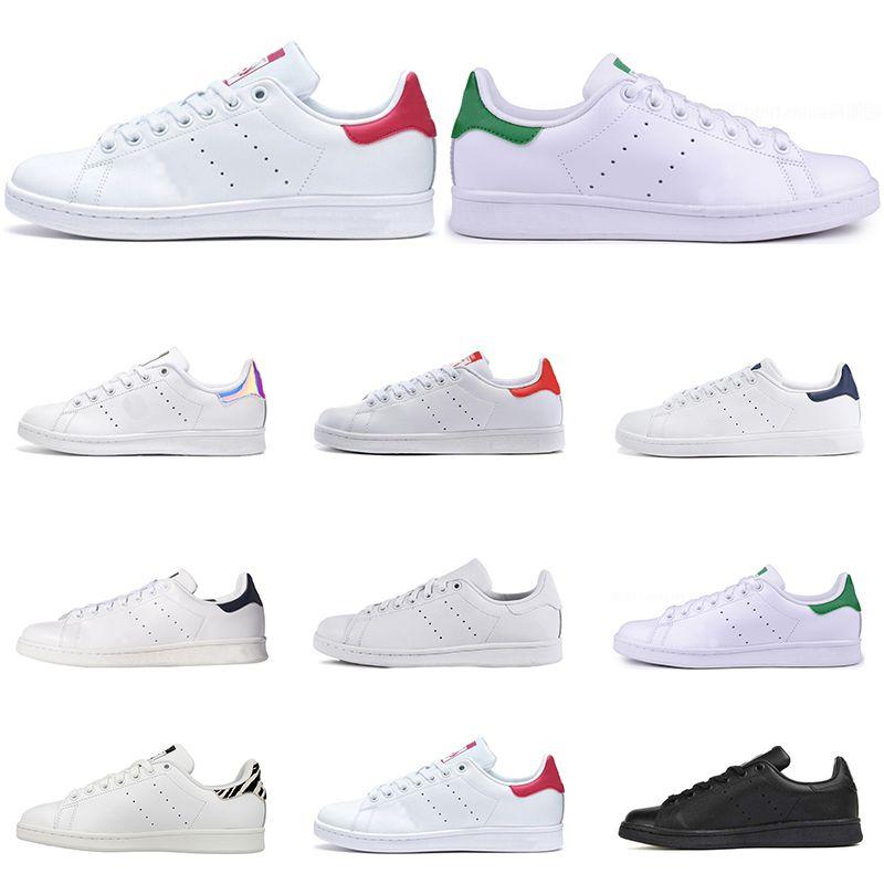 Stan smith  chaussures de sport de qualité supérieure Smith marque hommes chaussures de sport en cuir casual baskets chaussures de course à roulettes taille eur 36-45