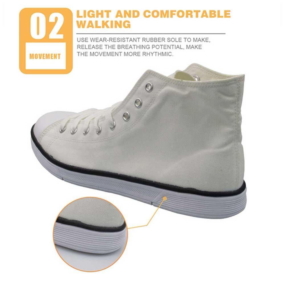 Mens High Top Sneakers pintura preta Shoes Masculino crânio Graffiti Shoes calçados casuais respirável Vulcanize alta qualidade