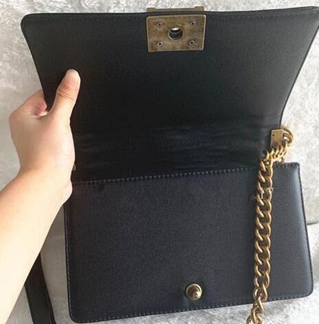 Cadeia Moda Mulheres de bolsas de embreagem bolsa de Nova 2,0 Ladys Messenger Bag Metallic Magia Bolsa de Ombro Cadeia Hot PU bolsa preta S997