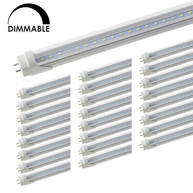 Диммируемый T8 LED трубки света, светодиодные магазин фары, двойной конец Работает, флуоресцентная Замена лампы для Склада супермаркет Workshop, G13 базы