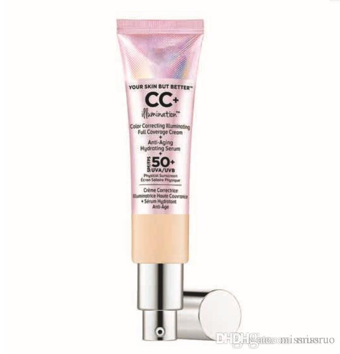 Nuovo trucco It Cosmetics Your Skin but Better Light Medium 2 colori Crema perlescente Crema solare 32 ml CC Cream DHL