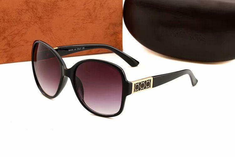 Moda Ciclismo Óculos De Sol de Luxo Mulheres Designer Rodada Oversized Óculos de Sol Equitação Vento Espelho de Alta Qualidade Proteção UV Óculos de Condução
