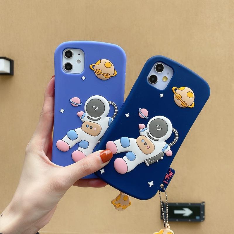 Модный 3D силиконовый чехол для телефона iphone 11 pro max iphpne x xs max xr astronaut pattem мягкая задняя крышка